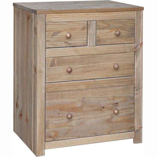 Hacienda 2 2 Drawer Chest HC512 From Cheap Bedroom