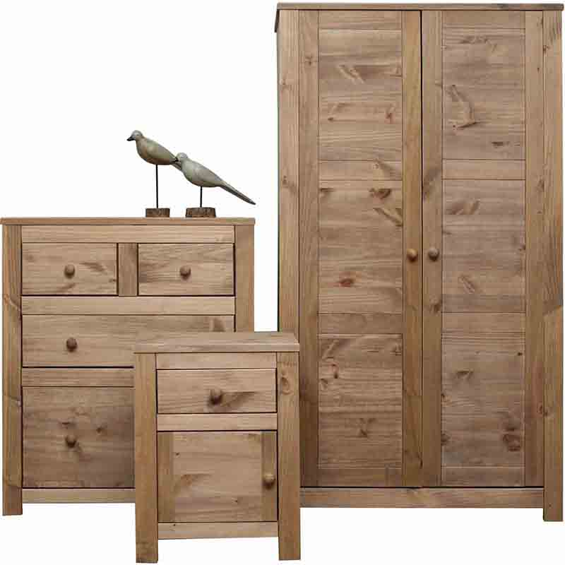 Hacienda Bedroom Furniture Set Btset1 From Cheap Bedroom